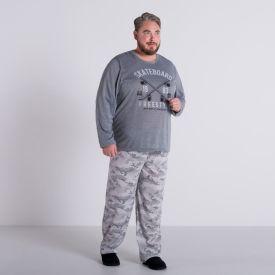 Pijama Plus Size Skate Marc Alain Mescla