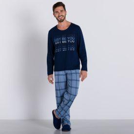 Pijama Xadrez Marc Alain Mesclado