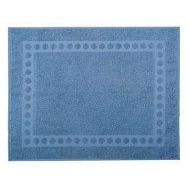 Piso Atoalhado 65X50cm Havan - Azul Claro