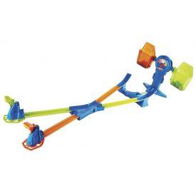 Pista Hot Wheels Equilíbrio Extremo FRH34 Mattel - Azul