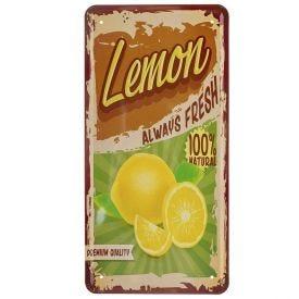 Placa Decorativa 30Cm Havan - Lemon