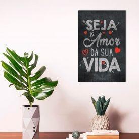 Placa Decorativa Havan - O Amor