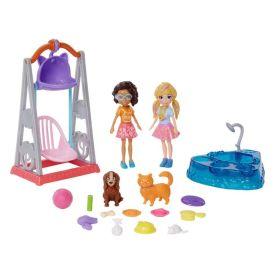 Polly Pocket 2 Amigas Hora de Brincar Mattel - GFR06 - Colorido