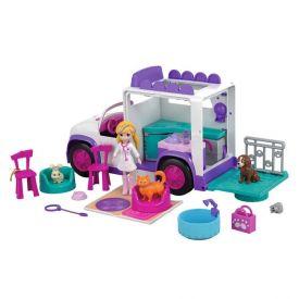 Polly Pocket Hospital dos Bichinhos Mattel - GFR04 - Branco