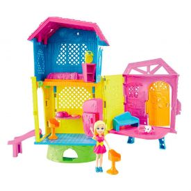 Polly Pocket Super Clubhouse Dhw41 Mattel - ROSA