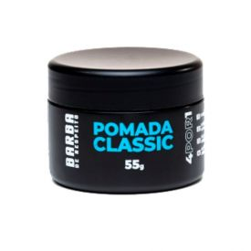 Pomada Classic Para Cabelo 4 Por 1 Barba De Respeito - 55g