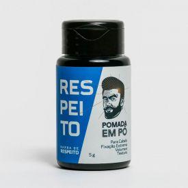 Pomada Em Pó Capilar Barba De Respeito - DIVERSOS