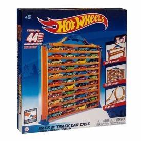 Porta Carrinhos e Pista Hot Wheels - 8448-0