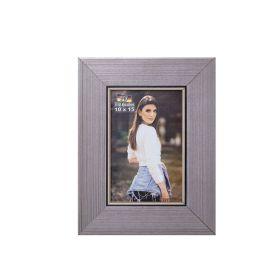 Porta Retrato 10X15cm Bw Quadros  - Cinza