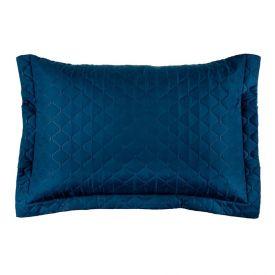 Porta Travesseiro Microfibra 55X80cm Solecasa - Azul Real
