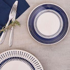 Prato de Sobremesa Colb 19cm Biona - Azul