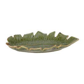 Prato Decorativo Banana Leaf Lyor - Verde