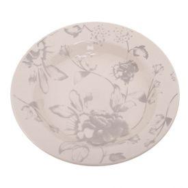 Prato Fundo Donna Clara 22Cm - Cerâmica