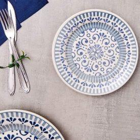 Prato Para Sobremesa 19Cm Donna - Azul