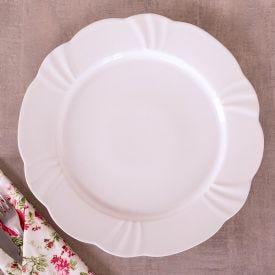 Prato Raso Soleil White 29cm Oxford - Porcelana