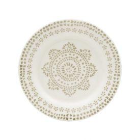 Prato Sobremesa Biona New Maya 19Cm - Cerâmica