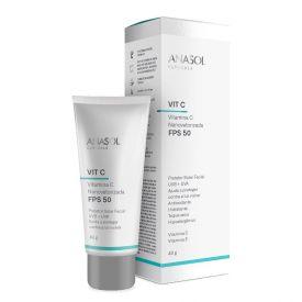 Protetor Facial Fps50 Clinicals Vitamina C 40G Anasol - DIVERSOS