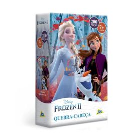 Quebra-Cabeça 200 Peças Frozen Ii Toyster - 2656 - Colorido