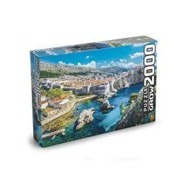 Quebra Cabeça 2000 Peças 3610 Grow - Dubrovnik