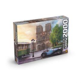 Quebra Cabeça 2000 Peças 3745 Grow - Catedral Notre-Dame