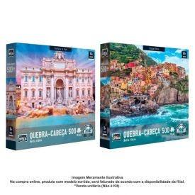 Quebra Cabeça 500 Peças Bella Itália Toyster - 2514