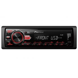 Rádio MP3 Player Receiver com USB MVH-98UB Pioneer - 1 DIN