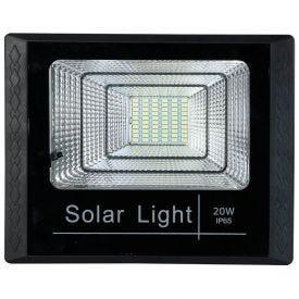 Refletor Solar Com Controle Remoto 20W Gaya - 9668
