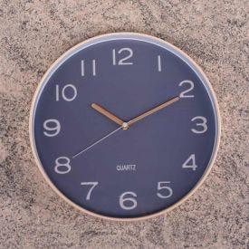 Relógio de Parede Londres 30cm Solecasa - Natural