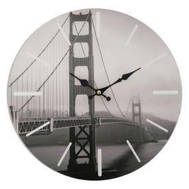Relógio De Parede Mundi 33,8Cm Yaris - San Francisco