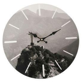 Relógio De Parede Mundi 33,8Cm Yaris - Rio