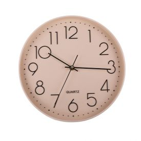 Relógio De Parede Redondo 30,2X5,2Cm Solecasa - Rosa