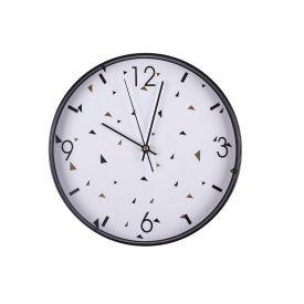 Relógio De Parede Redondo 30,5X4,2Cm Solecasa - Respingos