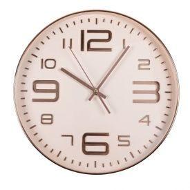 Relógio De Parede Solecasa 35,4Cm - Rosa