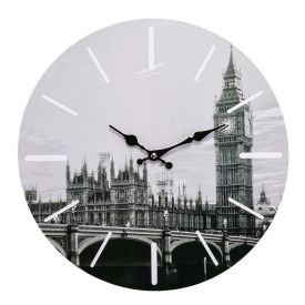 Relógio De Parede Yaris Cities 33,8Cm - Londres
