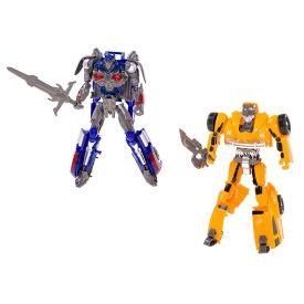 Robôs Transformadores 2 Peças Havan - HME0236