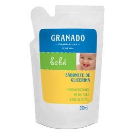 Sabonete Liquido De Glicerina Granado Bebê 250Ml - Refil
