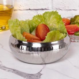 Saladeira Gourmet 15cm Wave Havan - Inox