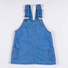 Salopete de Bebê Jeans + Bordado Yoyo Baby Jeans