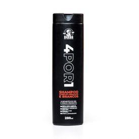 Shampoo 280ml 4 por 1 - Barba De Respeito
