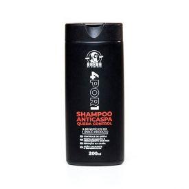 Shampoo Anticaspa Queda Control 200ML 4 Por 1 - Barba De Respeito