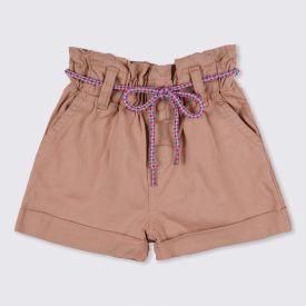 Shorts 1 a 3 anos Jogger de Sarja Yoyo Kids Giger Root
