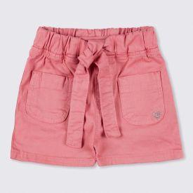 Shorts 1 a 3 anos Sarja Barra Cinto Yoyo Kids Roset