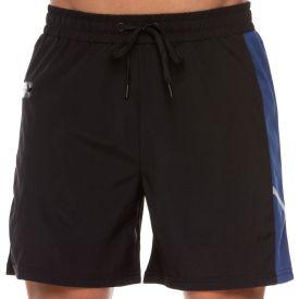 Shorts com Bolso Zíper Lateral Compressão Scream Preto