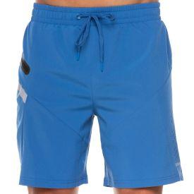 Shorts com Bolso Zíper Lateral Scream Azul