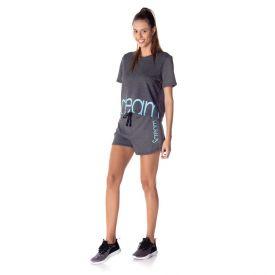 Shorts com Silk Scream Mescla