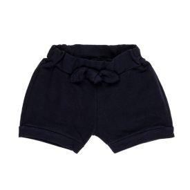 Shorts de Bebê Moletinho Fakini Preto