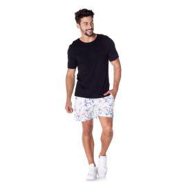 Shorts Estampado de Poliéster Nonoai