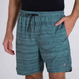 Shorts Estampado Rajada Nicoboco Verde