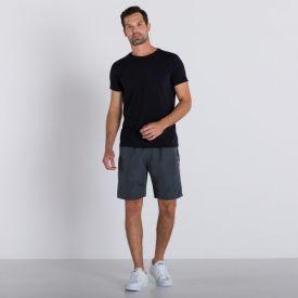 Shorts Liso com Elástico Marc Alain
