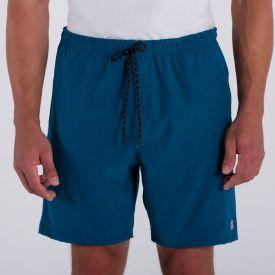 Shorts Liso Nicoboco Azul Petróleo